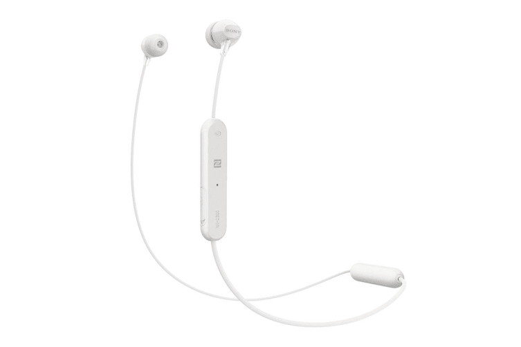 Sony Entry In-Ear Headphone with Bluetooth - White (WIC300W)