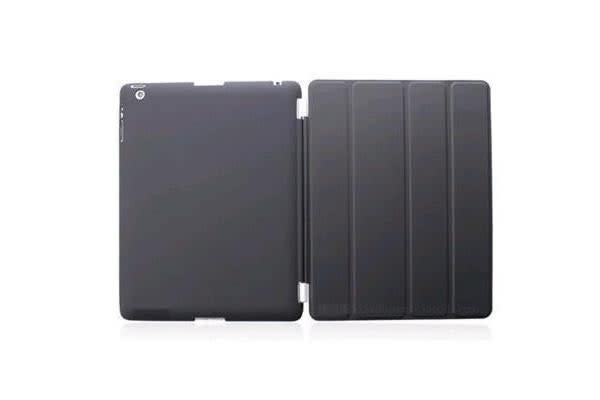Generic Black Flip Protect Case Cover for iPad 2 / 3 / 4
