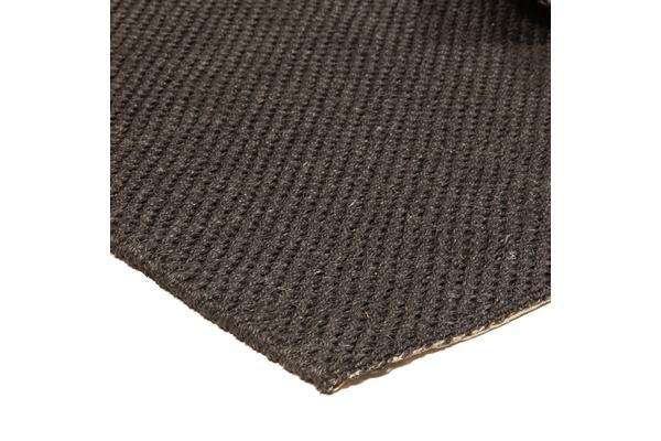 Natural Sisal Rug Tiger Eye Charcoal 160x110cm