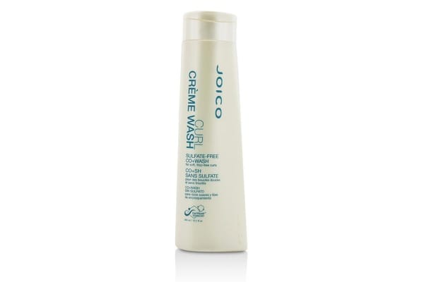 Joico Curl Creme Wash Sulfate-Free Co+Wash (For Soft, Frizz-Free Curls) (300ml/10.1oz)