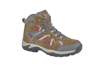 Johnscliffe Adventure Womens/Ladies Suede/Nylon Hiking Boot (Brown/Burgundy)