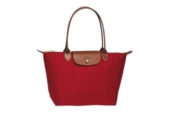 Longchamp Le Pliage Tote Bag (Small, Red)