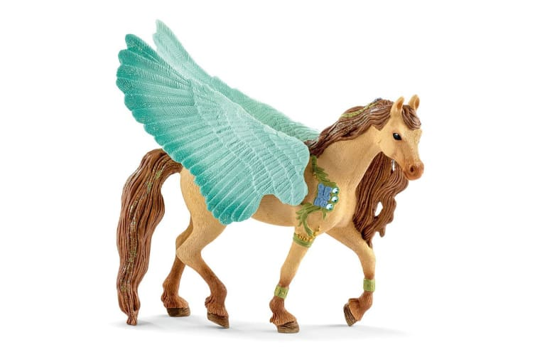Schleich Bayala Decorated Pegasus Stallion Figure