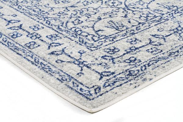Whisper White Transitional Rug 300x80cm