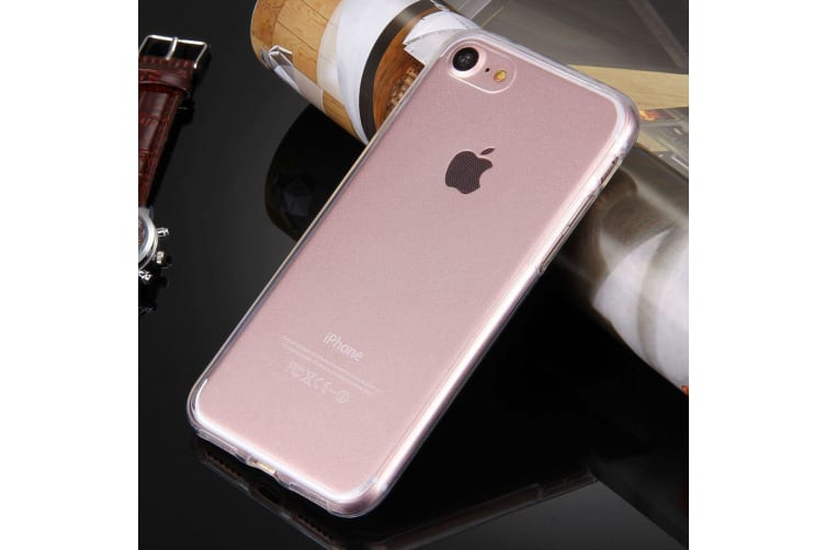 For iPhone 8 7 Case Stylish Double-Sided Ultra-Thin Transparent Protective Cover
