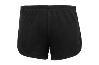 American Apparel Womens/Ladies Cotton Casual/Sports Shorts (Black)