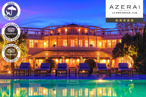 VIETNAM: 4 or 5 Nights at AZERAI – La Residence, Hue for Two (4 Nights)