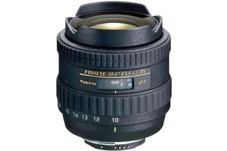 New Tokina AT-X 107 AF DX 10-17mm f/3.5-4.5 Lens For Nikon (FREE DELIVERY + 1 YEAR AU WARRANTY)
