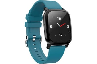 Bluetooth V5.0 Smart Watch Gps Track Heart Rate Blood Pressure 1.3&Quot; - Navy