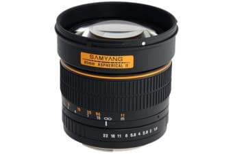 New Samyang 85mm f/1.4 Aspherical IF (Sony) (FREE DELIVERY + 1 YEAR AU WARRANTY)