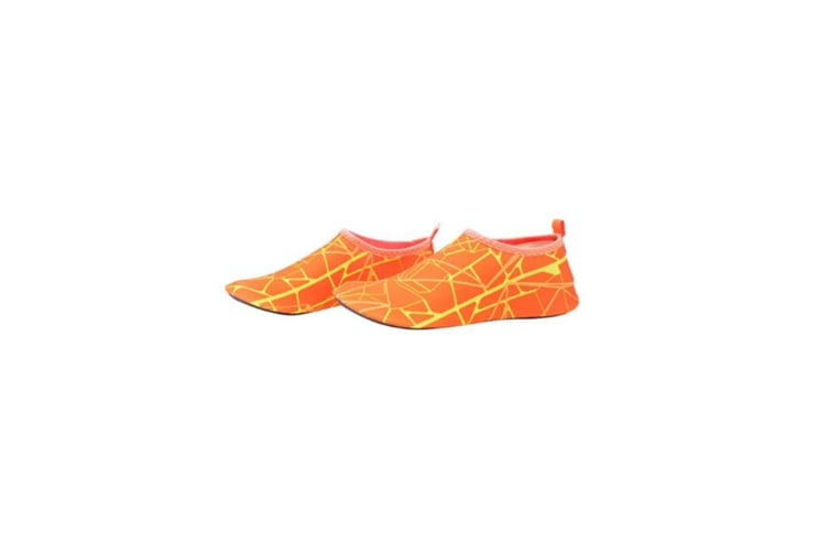 Quick Drying Outdoor Water Shoes For Beach Swim Surf Yoga Exercise Orange Xl