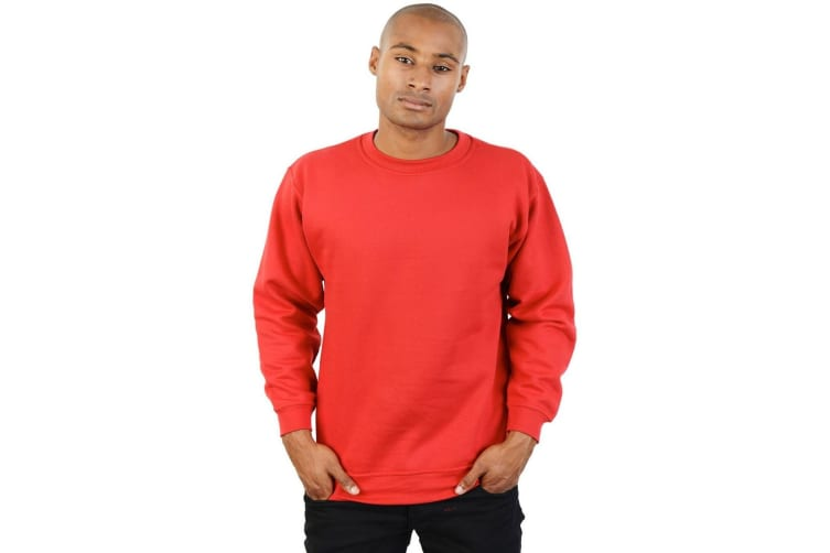 Absolute Apparel Mens Magnum Sweat (Red) (2XL)