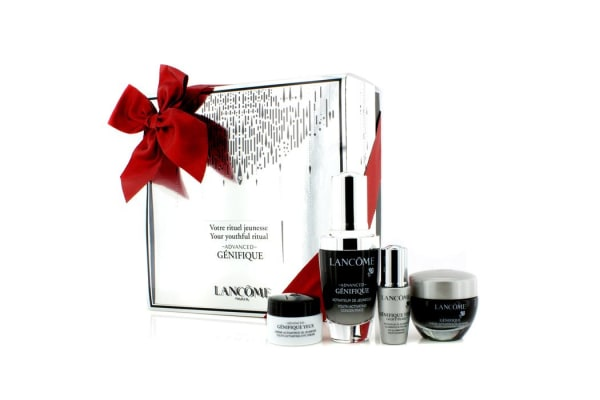 Lancome Advanced Genifique (Your Youthful Ritual) Set: Concentrate 30ml + Cream 15ml + Yeux Light-Pearl 5ml + Eye Cream 5ml (4pcs)