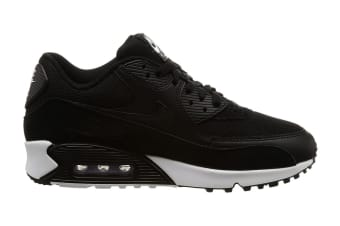 Nike Men's Air Max 90 Essential Shoe (Black/White, Size 7)