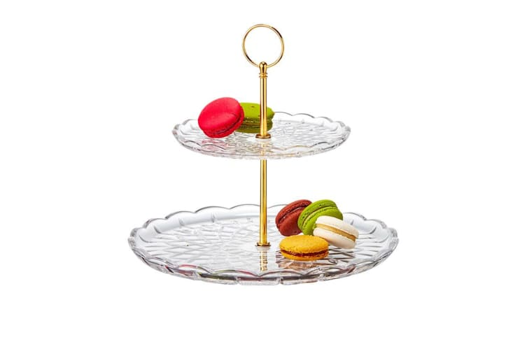 Salt & Pepper Milan 2 Tier Cake Stand