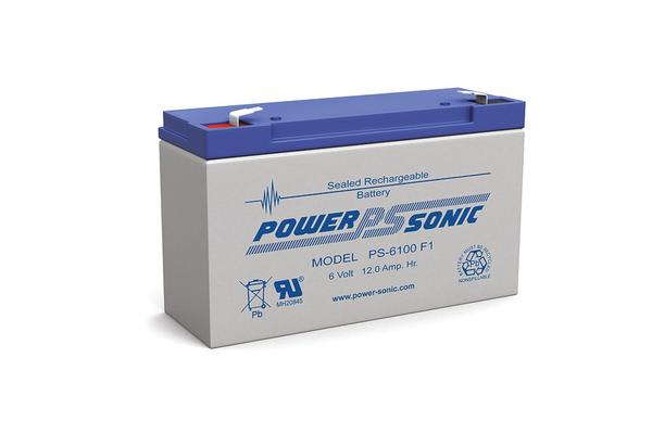 Power Sonic 6V 12Amp Sla Battery