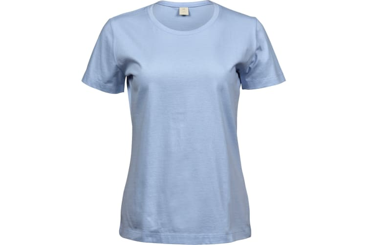 Tee Jays Womens/Ladies Sof T-Shirt (Light Blue) (3XL)