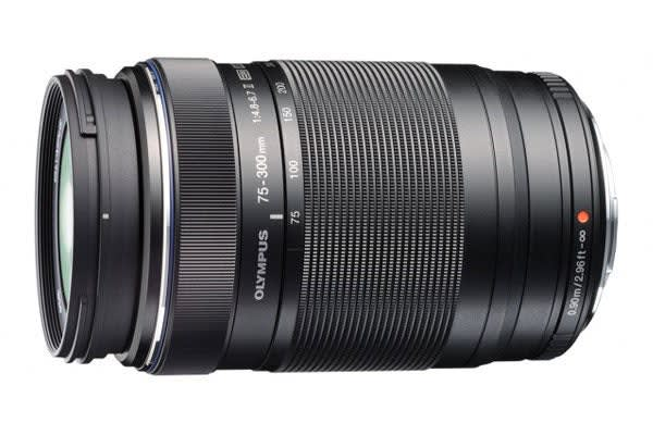 Olympus M.Zuiko Digital ED 75-300mm f/4.8-6.7 II Lens (Black)