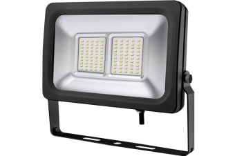 50W 240V AC IP65 Weatherproof Cool White LED Floodlight