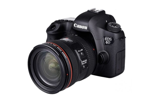 Canon EOS 6D DSLR 24-70mm f/4L IS USM Lens Kit (Black)