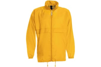 B&C Sirocco Mens Lightweight Jacket / Mens Outer Jackets (Gold) (L)