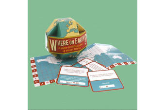 Where On Earth? Geography Travel Trivia | Stylish World Globe Gift Box