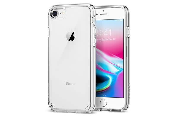 Spigen iPhone 8 /7 Ultra Hybrid 2 Case Crystal Clear