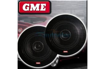 """GME 51/4"""" FLUSH SPEAKERS 130mm PAIR CAR COAXIAL 2 WAY STEREO SYSTEM NEW SPK011"""