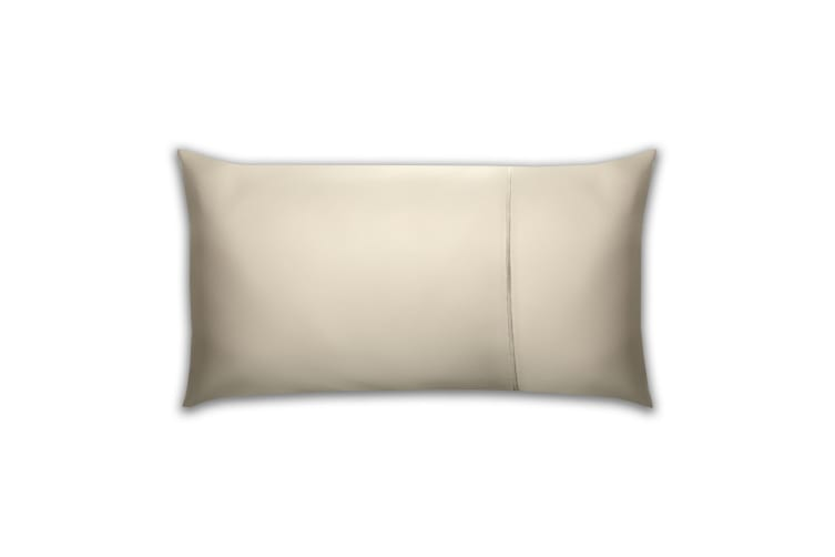 Belledorm Pima Cotton 450 Thread Count Bolster Pillowcase (Oyster) (One Size)