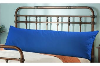 Extra Long Double Bolster Body Pillow VY BLUE