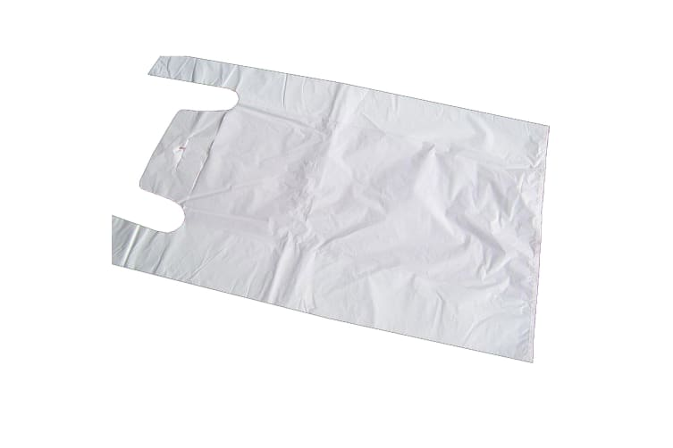 Smith & Bateson Mighty Jumbo Carrier Bags (Pack Of 50) (White) (One Size)