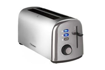 Westinghouse 4 Slice Long Slot Toaster - Stainless Steel