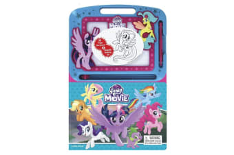 My Little Pony The Movie Learning Book with Magnetic Drawing Pad