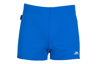 Trespass Mens Exerted Contrast Panel Swim Shorts (Bright Blue) (S)
