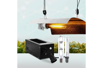 250 watt Hydroponic Grow Light Kit HPS MH Lamp Magnetic Ballast