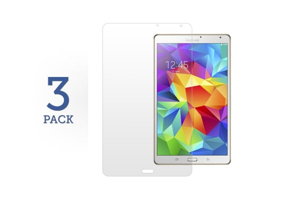 """3 Pack Screen Protector for Samsung Galaxy Tab S 8.4"""""""