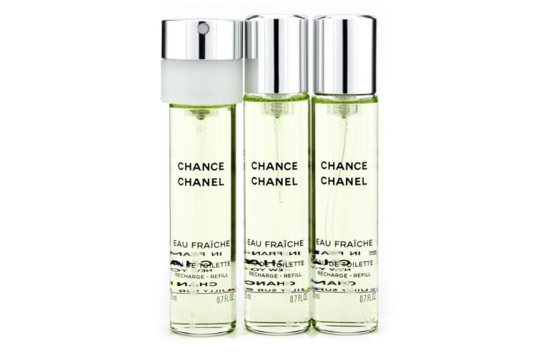 Chanel Chance Eau Fraiche Twist & Spray Eau De Toilette Refill 3x20ml