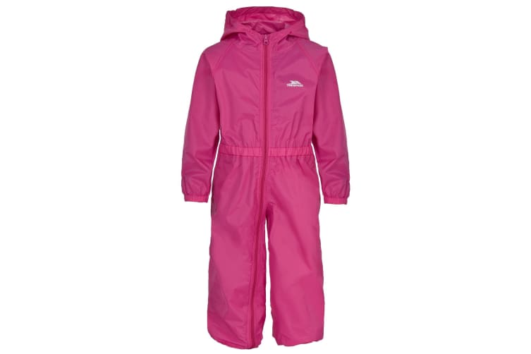 Trespass Babies Button Waterproof Rain Suit (Gerbera) (6/12 Months)