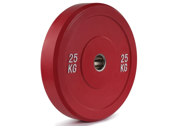 Set of 2 Fortis Bumper Weight Plate (25KG)