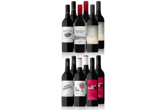Australian Red Mixed Dozen Featuring Penfolds Rawson's Retreat Cabernet Sauvignon (12 Bottles)