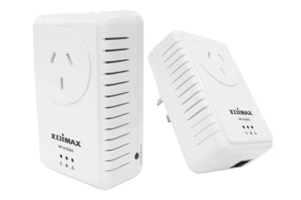 Edimax 500Mbps Nano PowerLine Adapter Kit (HP-5102ACK)