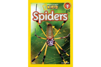 National Geographic Kids Readers - Spiders