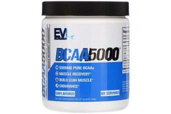 2x EVLution Nutrition BCAA 5000 - Unflavored
