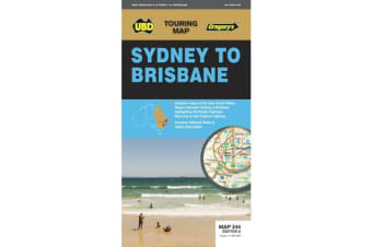 Sydney to Brisbane Map 244 7th ed