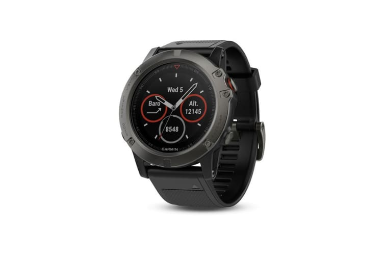 Garmin Fenix 5x Sapphire Edition Slate Gray with Black Band