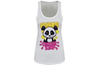 Handa Panda Ladies/Womens Choose Kind Floaty Tank (White)