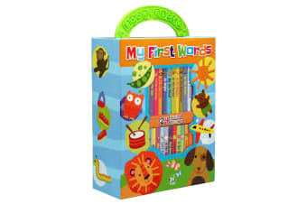 My First Words - My First Library 24 Board Book Block