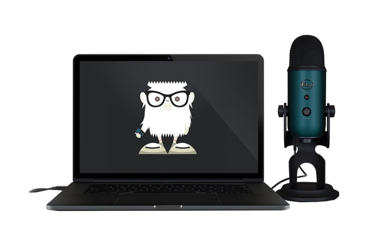 Blue Yeti 3-Capsule USB Microphone - Black & Teal