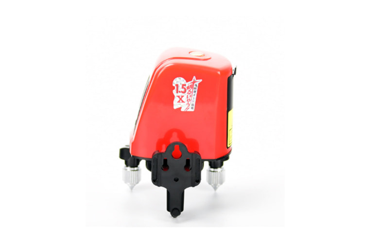 Cross Line Laser Level With 2 Plumb Dots - Multi-Use Self-Leveling Alignment Laser Level