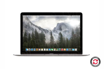 "Apple 12"" Macbook MLHA2 Refurbished (256GB, 1.1GHz m3, Silver) - A Grade"
